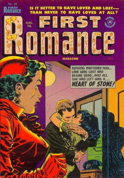 Cover for First Romance Magazine (Harvey, 1949 series) #29