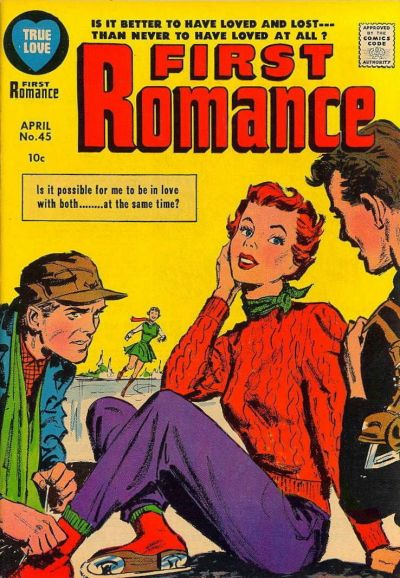 Cover for First Romance Magazine (Harvey, 1949 series) #45