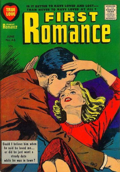 Cover for First Romance Magazine (Harvey, 1949 series) #46