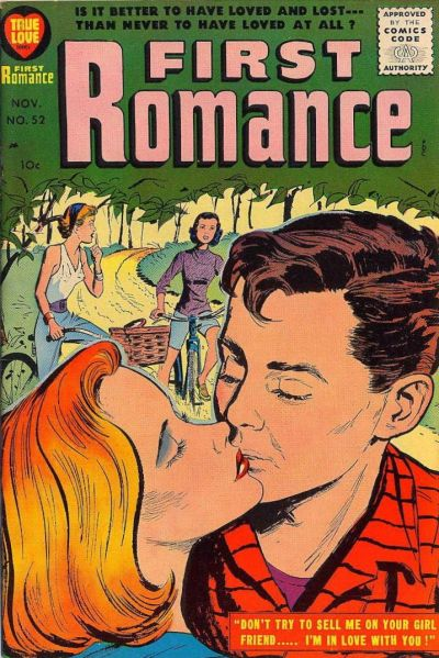 Cover for First Romance Magazine (Harvey, 1949 series) #52