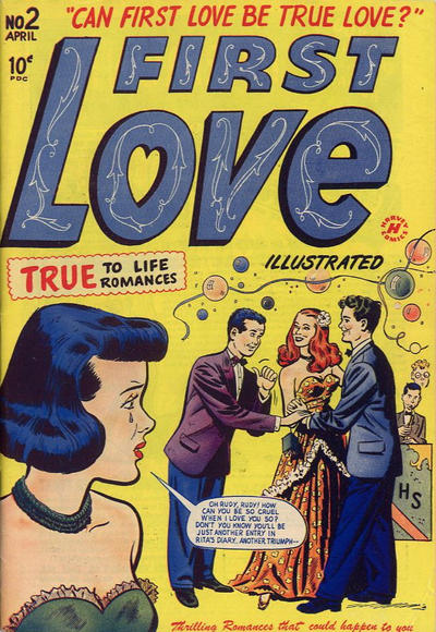 Cover for First Love Illustrated (Harvey, 1949 series) #2