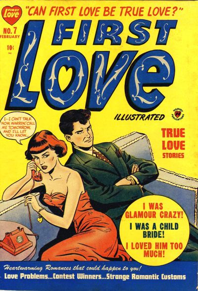 Cover for First Love Illustrated (Harvey, 1949 series) #7