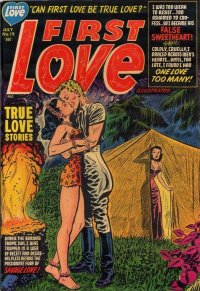 Cover for First Love Illustrated (Harvey, 1949 series) #19
