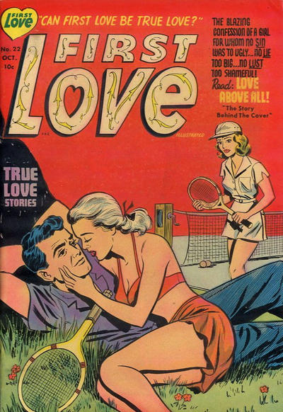 Cover for First Love Illustrated (Harvey, 1949 series) #22