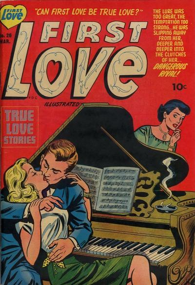 Cover for First Love Illustrated (Harvey, 1949 series) #26
