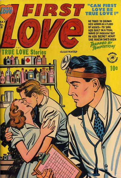 Cover for First Love Illustrated (Harvey, 1949 series) #28