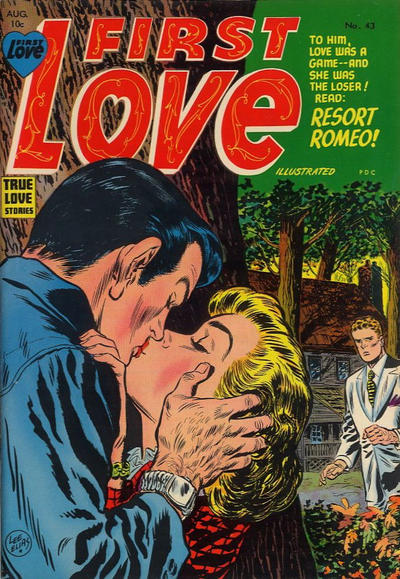 Cover for First Love Illustrated (Harvey, 1949 series) #43