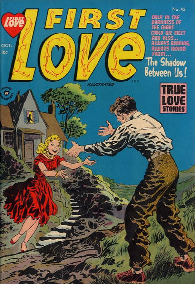Cover for First Love Illustrated (Harvey, 1949 series) #45