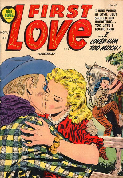 Cover for First Love Illustrated (Harvey, 1949 series) #46