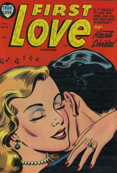 Cover for First Love Illustrated (Harvey, 1949 series) #48