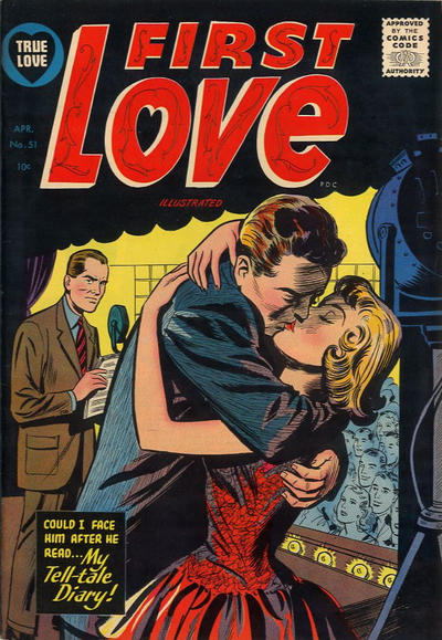 Cover for First Love Illustrated (Harvey, 1949 series) #51