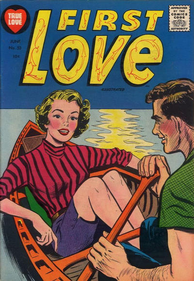 Cover for First Love Illustrated (Harvey, 1949 series) #53