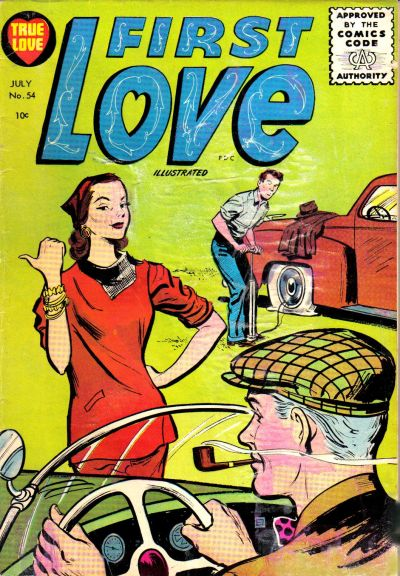 Cover for First Love Illustrated (Harvey, 1949 series) #54