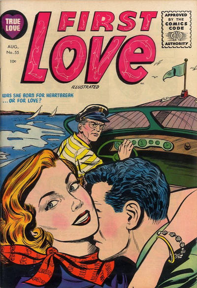 Cover for First Love Illustrated (Harvey, 1949 series) #55