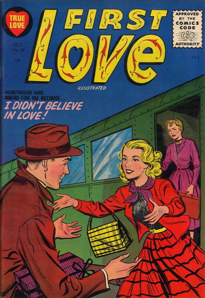 Cover for First Love Illustrated (Harvey, 1949 series) #57