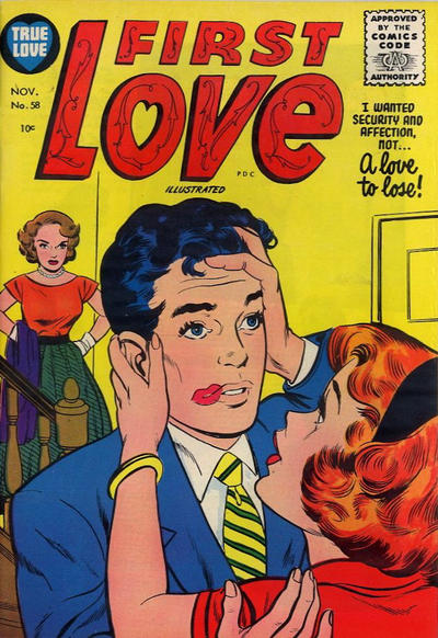 Cover for First Love Illustrated (Harvey, 1949 series) #58