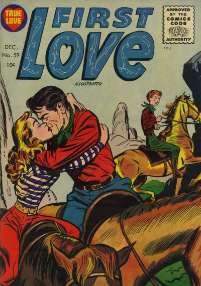 Cover for First Love Illustrated (Harvey, 1949 series) #59