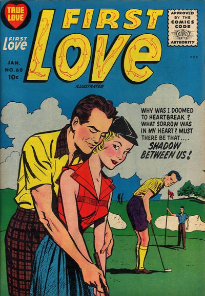 Cover for First Love Illustrated (Harvey, 1949 series) #60
