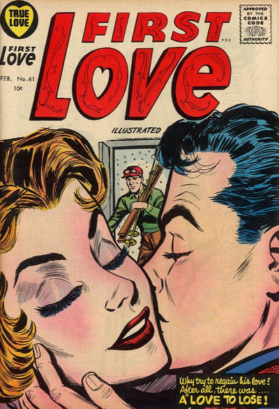Cover for First Love Illustrated (Harvey, 1949 series) #61