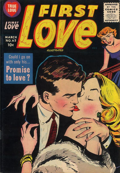 Cover for First Love Illustrated (Harvey, 1949 series) #62