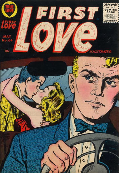 Cover for First Love Illustrated (Harvey, 1949 series) #64