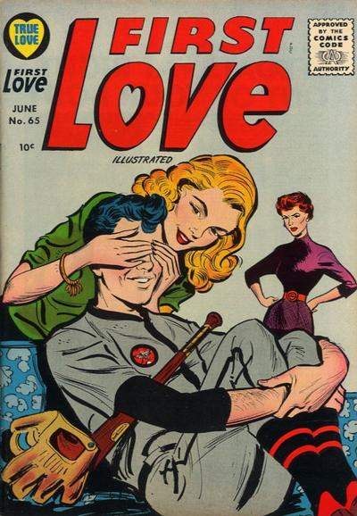 Cover for First Love Illustrated (Harvey, 1949 series) #65