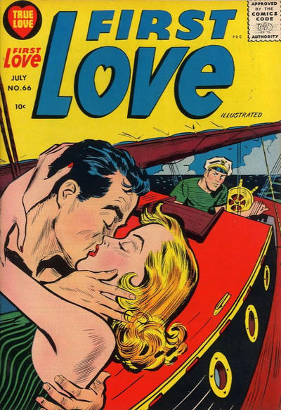 Cover for First Love Illustrated (Harvey, 1949 series) #66
