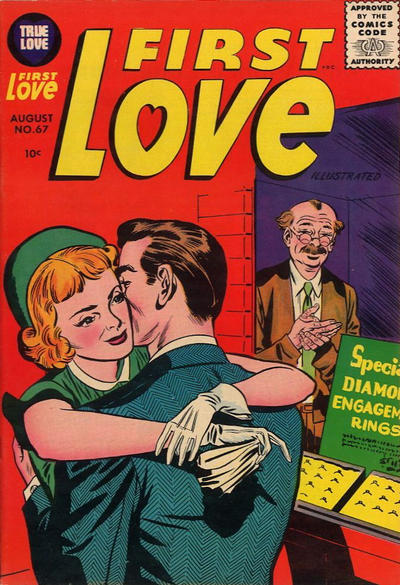Cover for First Love Illustrated (Harvey, 1949 series) #67