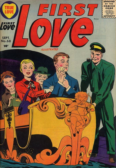 Cover for First Love Illustrated (Harvey, 1949 series) #68