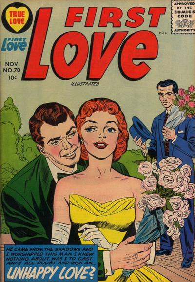 Cover for First Love Illustrated (Harvey, 1949 series) #70
