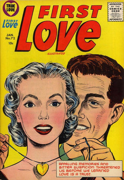 Cover for First Love Illustrated (Harvey, 1949 series) #72