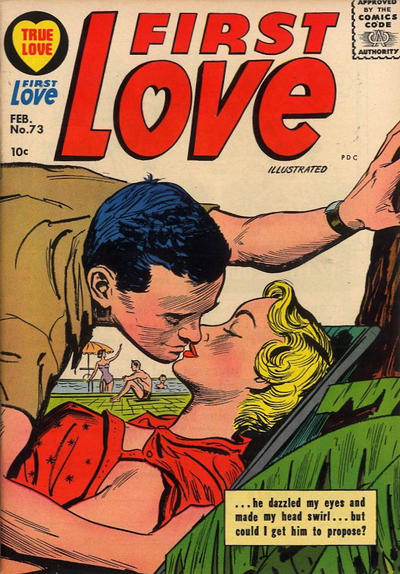 Cover for First Love Illustrated (Harvey, 1949 series) #73