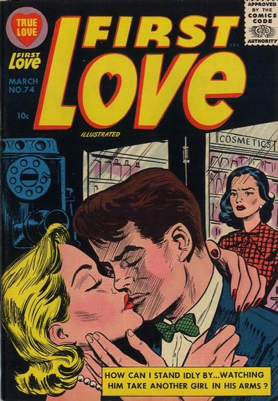 Cover for First Love Illustrated (Harvey, 1949 series) #74