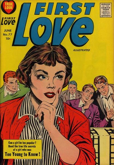 Cover for First Love Illustrated (Harvey, 1949 series) #77