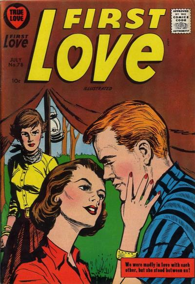 Cover for First Love Illustrated (Harvey, 1949 series) #78