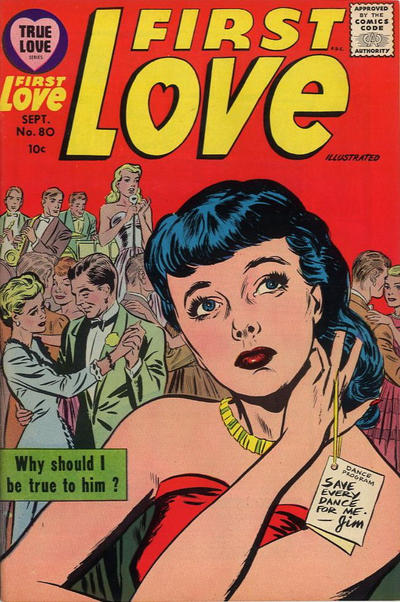 Cover for First Love Illustrated (Harvey, 1949 series) #80