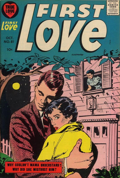 Cover for First Love Illustrated (Harvey, 1949 series) #81