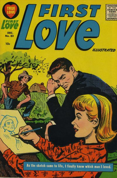 Cover for First Love Illustrated (Harvey, 1949 series) #83