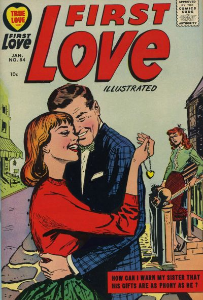Cover for First Love Illustrated (Harvey, 1949 series) #84