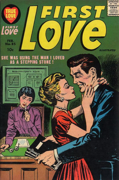 Cover for First Love Illustrated (Harvey, 1949 series) #85