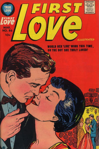 Cover for First Love Illustrated (Harvey, 1949 series) #86