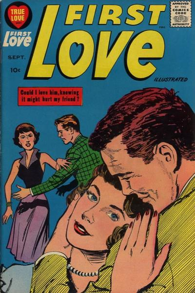 Cover for First Love Illustrated (Harvey, 1949 series) #87