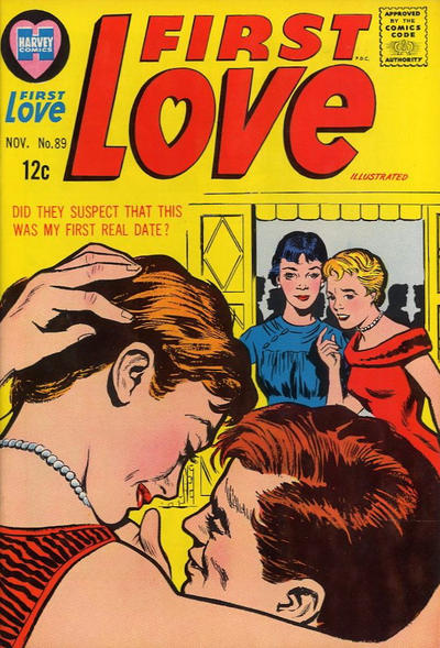 Cover for First Love Illustrated (Harvey, 1949 series) #89