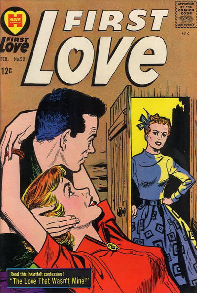 Cover for First Love Illustrated (Harvey, 1949 series) #90