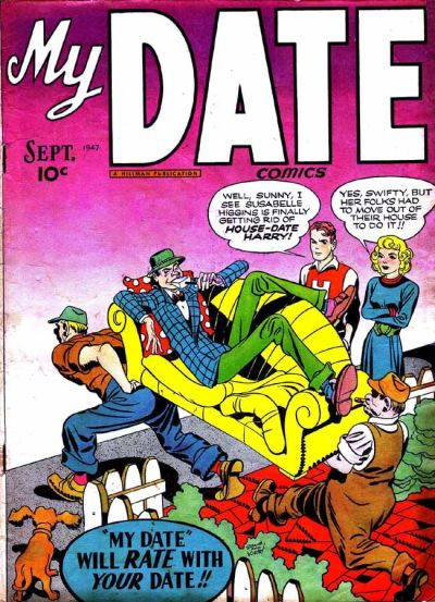 Cover for My Date Comics (Hillman, 1947 series) #v1#2