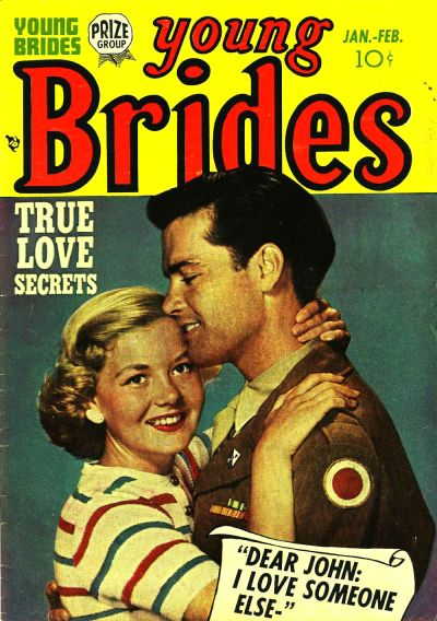 Cover for Young Brides (Prize, 1952 series) #v1#3 [3]
