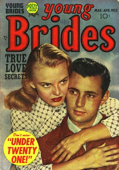 Cover for Young Brides (Prize, 1952 series) #v1#4 [4]