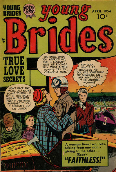Cover for Young Brides (Prize, 1952 series) #v2#8 [14]