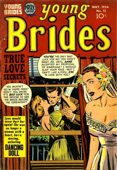 Cover for Young Brides (Prize, 1952 series) #v2#9 (15)