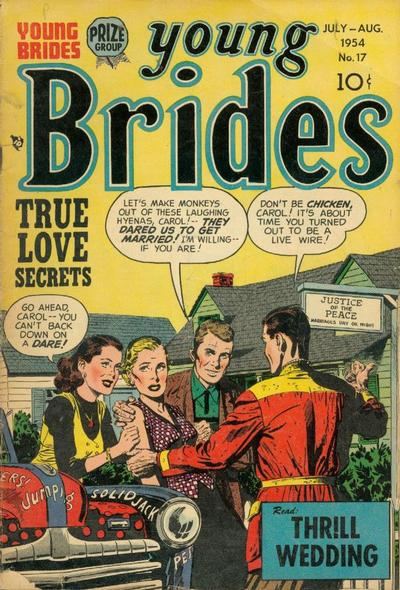 Cover for Young Brides (Prize, 1952 series) #v2#11 (17)
